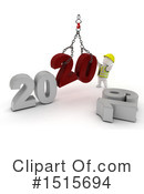 New Year Clipart #1515694 by KJ Pargeter