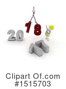New Year Clipart #1515703 by KJ Pargeter