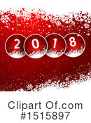 New Year Clipart #1515897 by KJ Pargeter