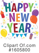 New Year Clipart #1605800 by visekart