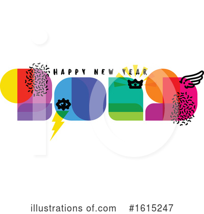 New Year Clipart #1615247 by elena