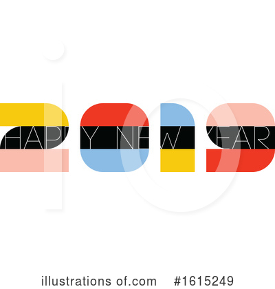 New Year Clipart #1615249 by elena