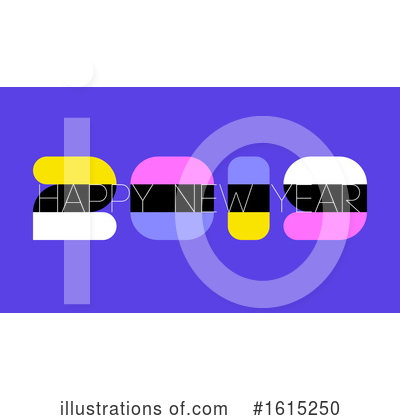 New Year Clipart #1615250 by elena