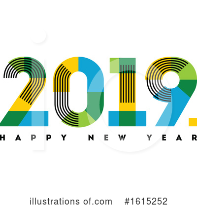 New Year Clipart #1615252 by elena