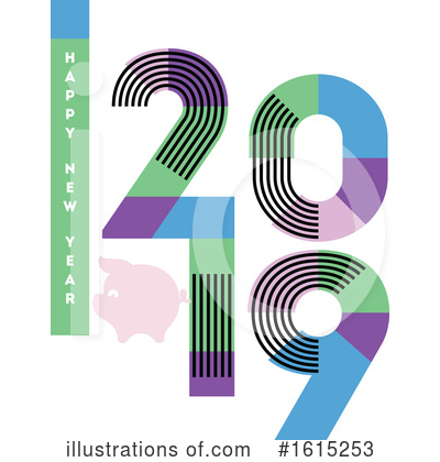 New Year Clipart #1615253 by elena