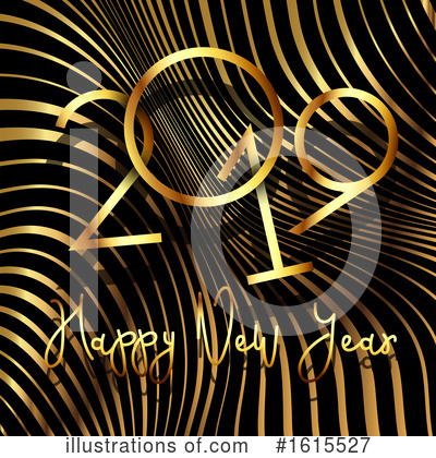 Royalty-Free (RF) New Year Clipart Illustration by KJ Pargeter - Stock Sample #1615527