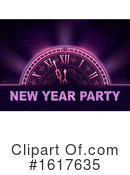 New Year Clipart #1617635 by dero