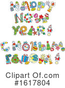 New Year Clipart #1617804 by Alex Bannykh