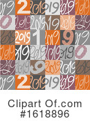New Year Clipart #1618896 by NL shop
