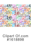 New Year Clipart #1618898 by NL shop