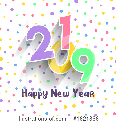 New Year Clipart #1621866 by KJ Pargeter