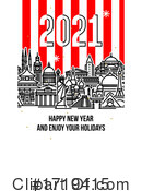New Year Clipart #1719415 by elena