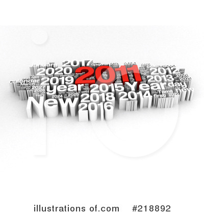 New Year Clipart #218892 by MacX
