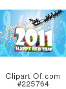 Royalty-Free (RF) New Year Clipart Illustration #225764
