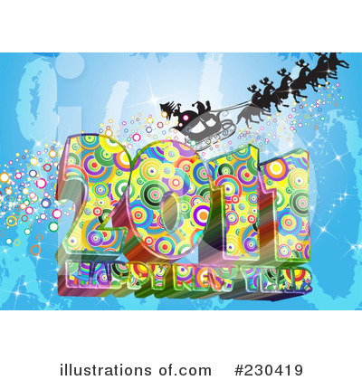 New Year Clipart #230419 by MacX