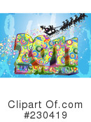Royalty-Free (RF) New Year Clipart Illustration #230419