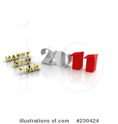 New Year Clipart #230424 by MacX