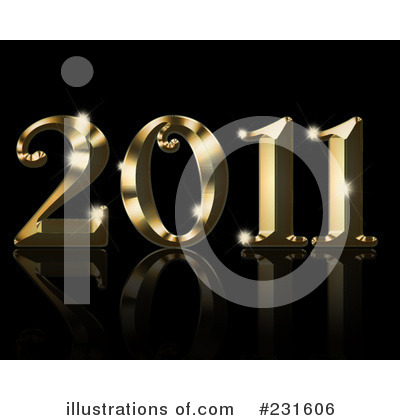 Royalty-Free (RF) New Year Clipart Illustration by KJ Pargeter - Stock Sample #231606