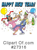 Royalty-Free (RF) New Year Clipart Illustration #27316