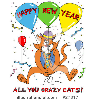New Year Clipart #27317 by LaffToon