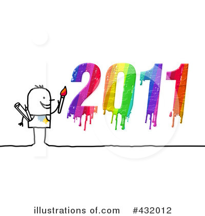 New Year Clipart #432012 by NL shop