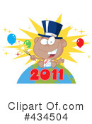 New Year Clipart #434504 by Hit Toon