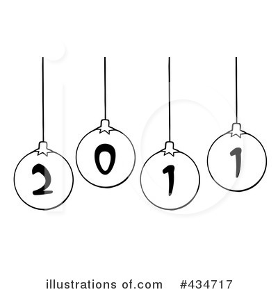 Bauble Clipart #434717 by Hit Toon