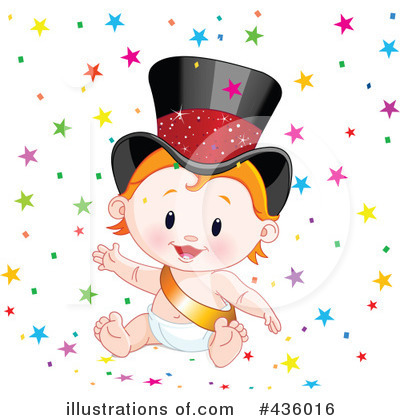New Year Baby Clipart #436016 by Pushkin
