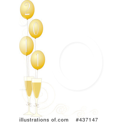 New Year Clipart #437147 by Maria Bell