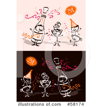 New Year Clipart #58174 by NL shop