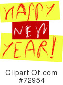 New Year Clipart #72954 by MacX