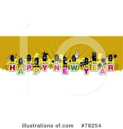 New Year Clipart #78254 by NL shop