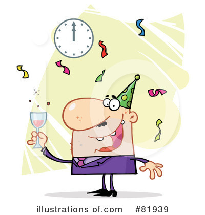 New Year Clipart #81939 by Hit Toon