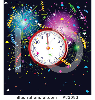 Fireworks Clipart #83083 by Pushkin
