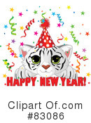 Royalty-Free (RF) New Year Clipart Illustration #83086