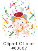 Royalty-Free (RF) New Year Clipart Illustration #83087