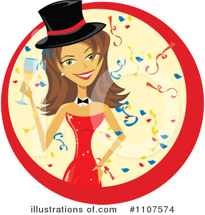 Champagne Clipart #1107574 by Amanda Kate