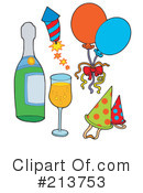New Years Clipart #213753 by visekart
