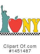 New York Clipart #1451487 by Maria Bell