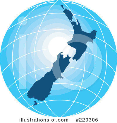 More Clip Art Illustrations of New Zealand