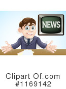 News Anchor Clipart #1169142