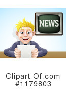 News Anchor Clipart #1179803