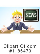 News Anchor Clipart #1186470