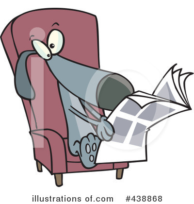 Newspaper Clipart #438868 by toonaday