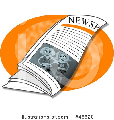 Newspaper Clipart #48620 by Prawny