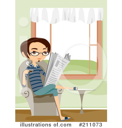 Newspaper Clipart #211073 by BNP Design Studio