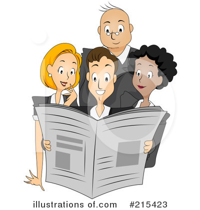 Business Team Clipart #215423 by BNP Design Studio
