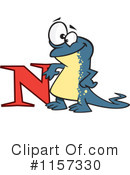 Royalty-Free (RF) Newt Clipart Illustration #1157330