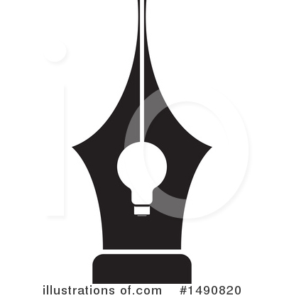 Light Bulb Clipart #1490820 by Lal Perera