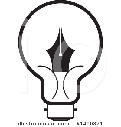 Writing Clipart #1490821 by Lal Perera